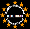 Qualitäts-Sigel Zelte Frank